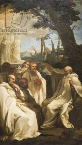 Vision of Saint Romuald, c.1631 (oil on canvas)