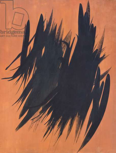 T 1956-19, 1956, Hans Hartung, 1904-1989 (oil on canvas)