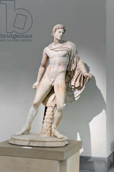 Warrior, known as Protesilaos, 2nd century AD, copy of a greek original of the 4th century BC (marble)