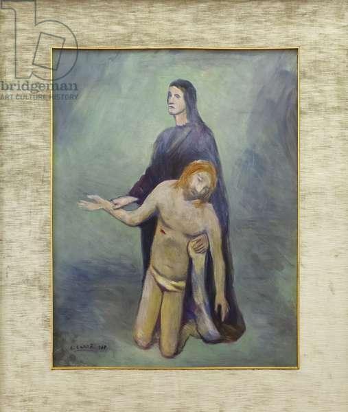 Pieta, 1948 (oil on canvas)