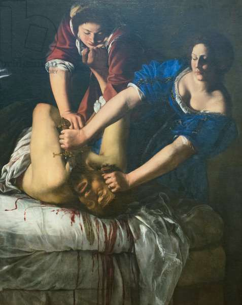 Judith and Holofernes, 1612-13 circa, Artemisia Gentileschi (oil on canvas)
