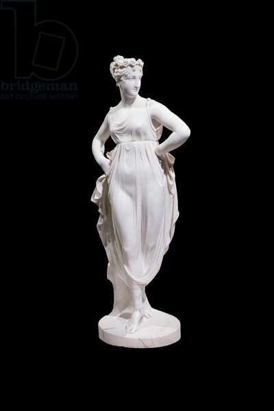 Dancer with hands on her hips, 1805-1812 (marble)