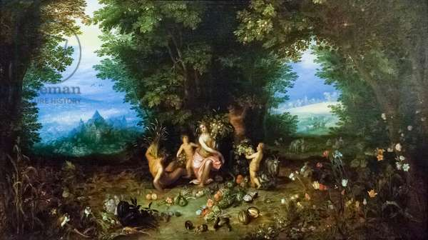 Allegory of Earth, ca. 1611, (painting)