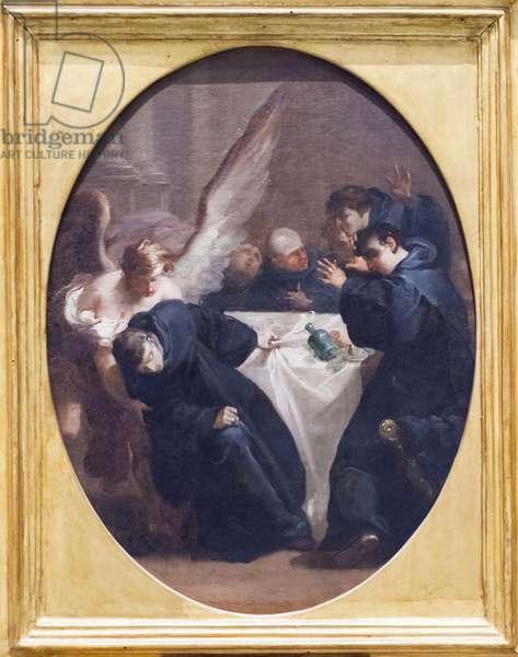 Death of Saint Andrew Avellino (oil on canvas)