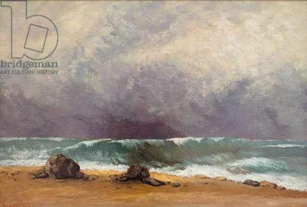 La Vague, 1871, Gustave Courbet (painting)