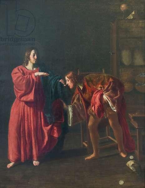 Calling of saint Matthew (vocazione di san Matteo),  (painting)