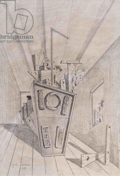 Metaphysical Consolation, 1918 (pencil on paper)