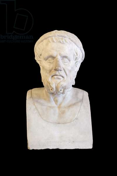 Homer or Hesiod (marble)
