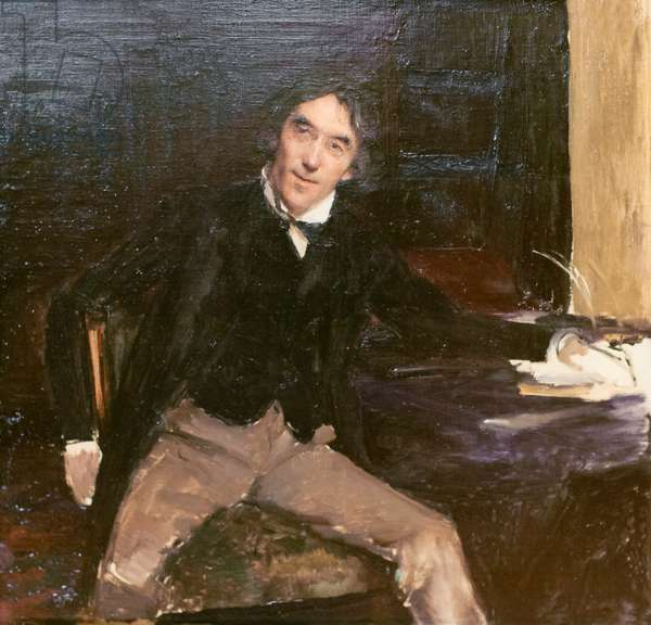 Sir Henry Irving, 1880 (oil on canvas)