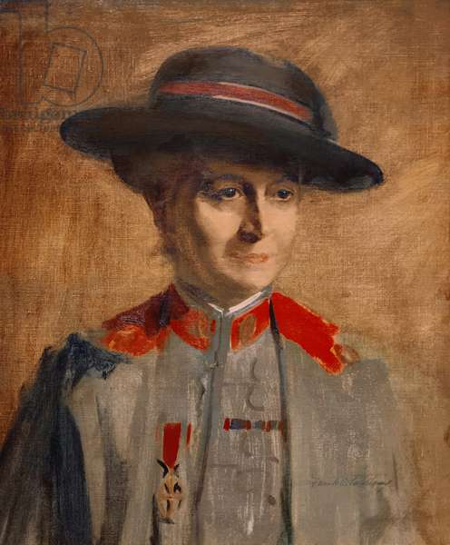 Dame Maud McCarthy, 1917 (oil on canvas)