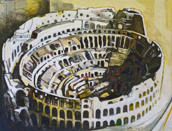 The Colosseum, 1972 (oil on canvas)