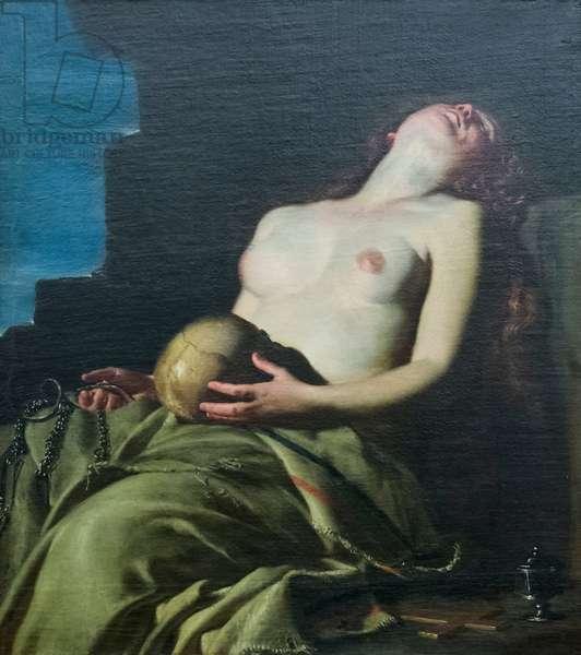 Saint Mary Magdalene penitent, 17th century (oil on canvas)