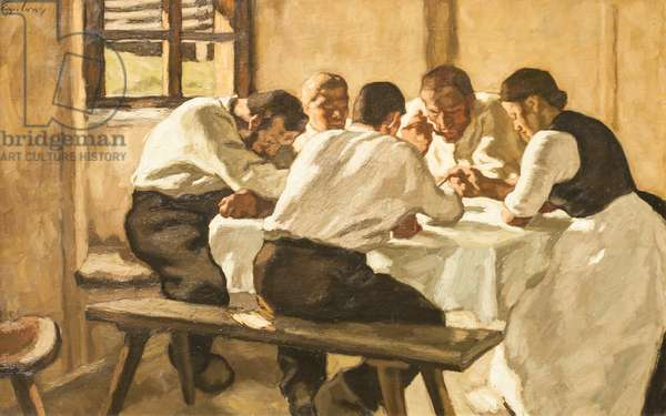 Lunch, c.1910 (oil on canvas)