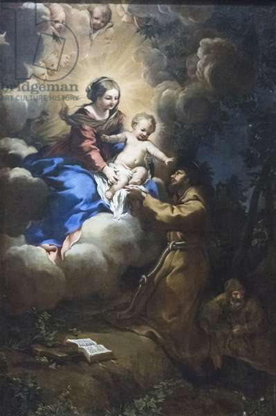 Vision of Mary to St Francis, c.1641 (oil on canvas)