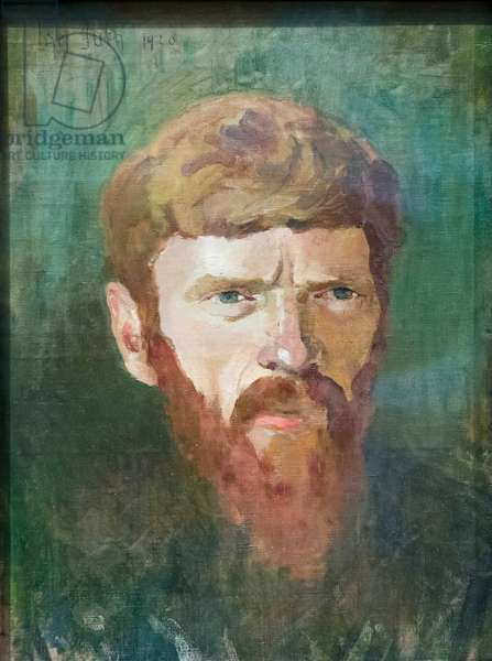 D. H. Lawrence, 1920 (oil on canvas)
