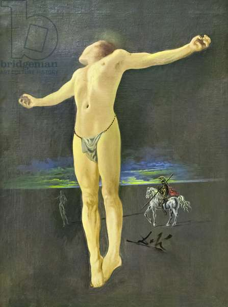 Crucifixion, 1954 (oil on canvas)
