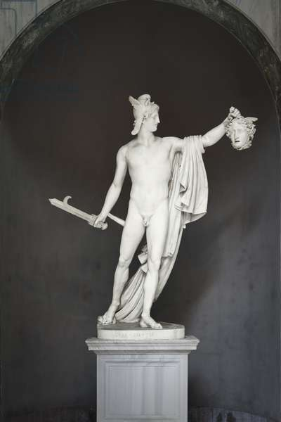Perseus with the Head of Medusa, c.1800 (marble)