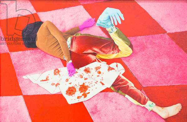 Delirium I, 2014, Alex da Corte (photography, pigment print on Hahnemühle Photo Rag)