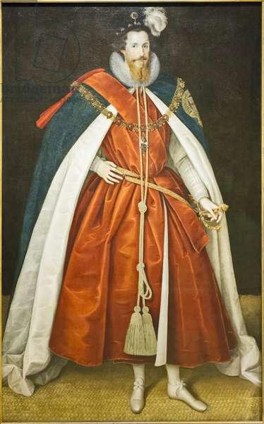 Robert de Vereux, 2nd earl of Essex, 1597 (oil on panel)