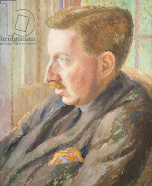 E. M. Forster, 1920 (oil on canvas)