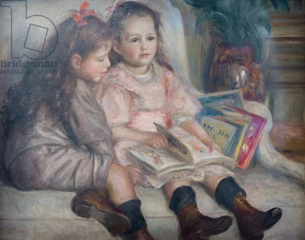 The children of Martial Caillebotte, 1895 (oil on canvas)