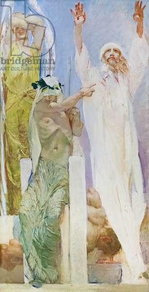 Il Precursore, 1927-28, (oil on canvas)