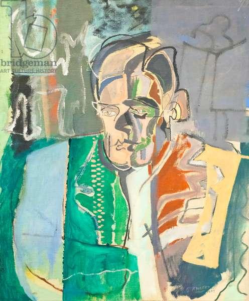 T. S. Eliot, 1949 (oil on canvas)