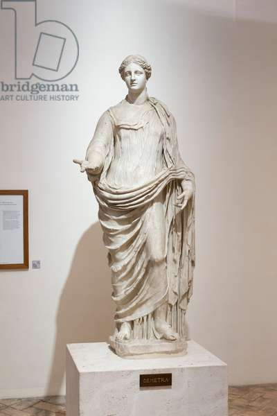 Aphrodite of Cnidos, Ludovisi collection, National Roman Museum, Palazzo Altemps, Rome, Italy