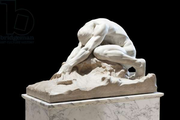 Humanity Against Evil, 1908 (marble)