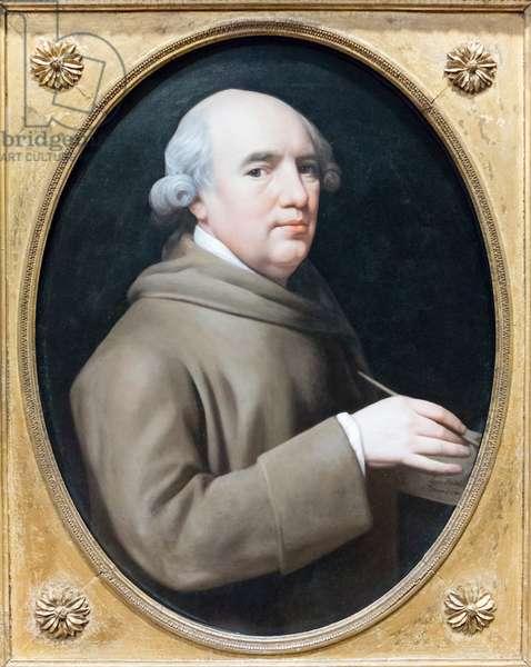 George Stubbs, 1781 (enamel on wedgwood plaque)