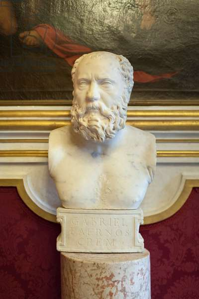 Bust of Gabriele Ferno Cremonese (marble)