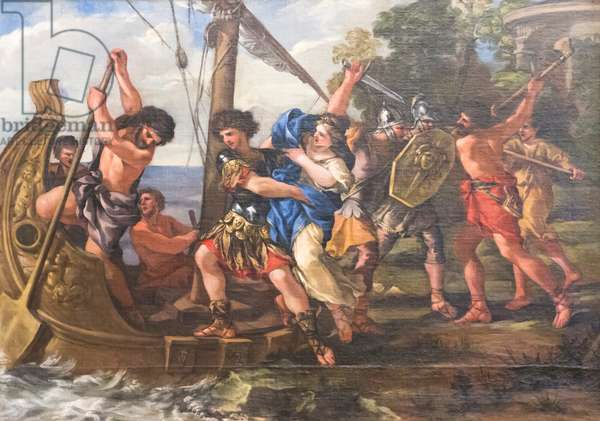 The Abduction of Helen, 1631-43 (oil on canvas)