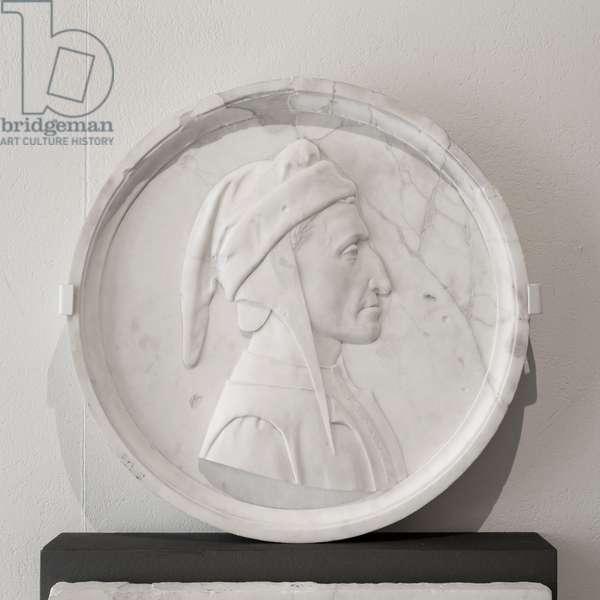 Dante Alighieri, 1865, (marble)