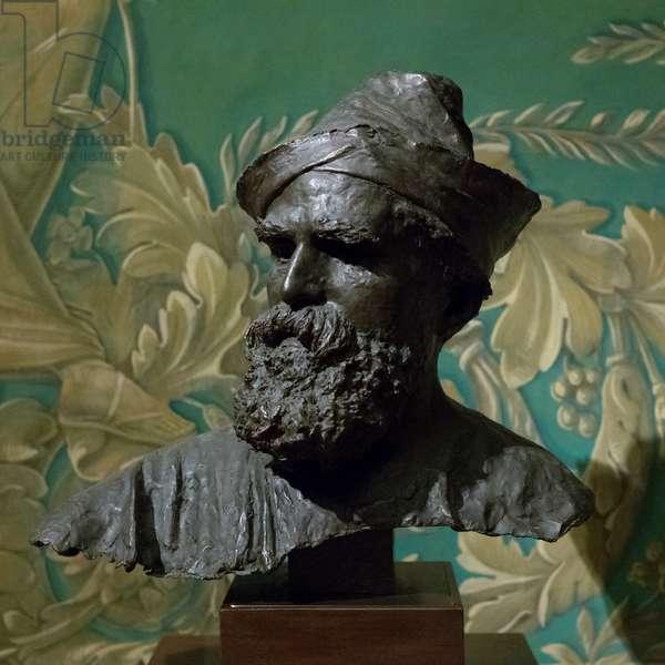 Portrait of Domenico Morelli, 1875 (bronze)