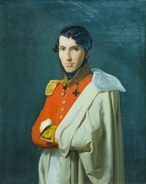 Portrait of Andrea Maffei in provincial councillor's uniform (Ritratto di Andrea Maffei in divisa da consigliere provinciale), 1825-35, Carlo Bellosio (oil on canvas)