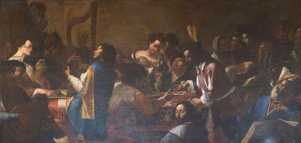 Allegory of the five senses, 1642-45, Mattia and Gregorio Preti (oil on canvas)