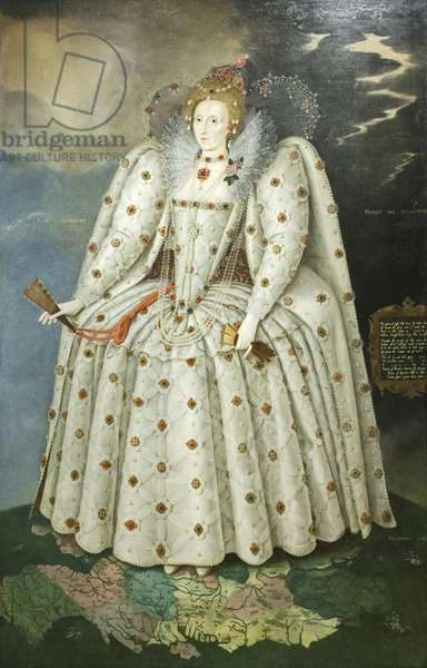 Queen Elizabeth I ('The Ditchley portrait') c.1592 (oil on canvas)