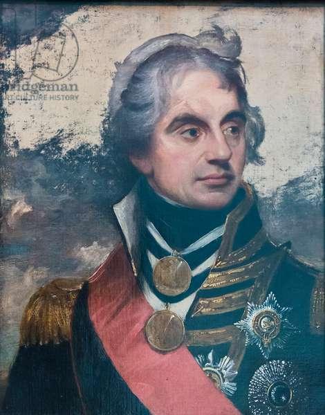 Horatio Nelson, 1800, (oil on canvas)