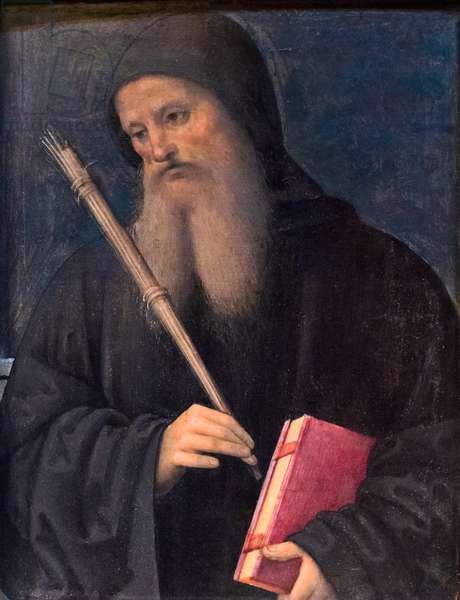 St Benedict, 1496-99 (tempera on wood)