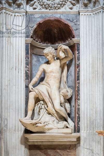 The prophet Jonah, 1522,(marble)