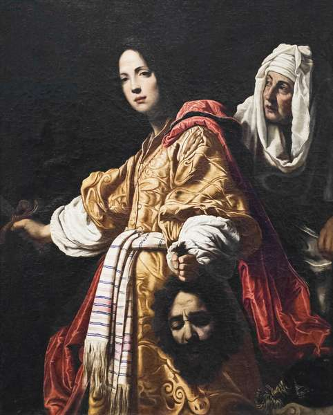 Judith with the head of Holofernes (oil on canvas)