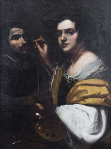 Allegory of painting, 17th century (oil on canvas)