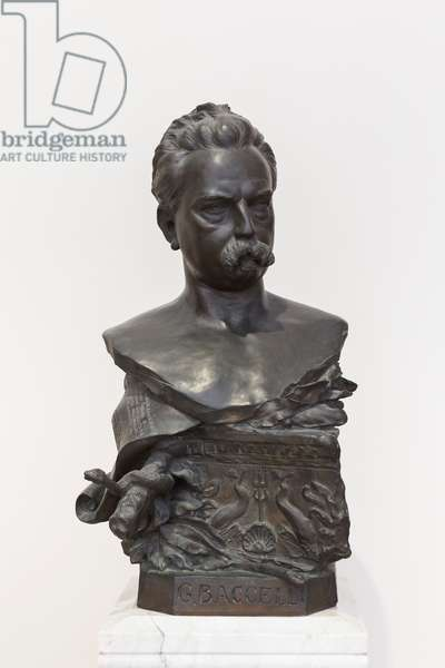 Bust of Guido Baccelli, 1895 (bronze)