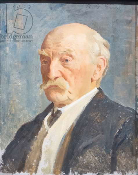 Thomas Hardy, 1923 (oil on canvas)