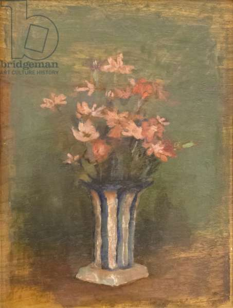 Flowers, 1923 (oil on panel)