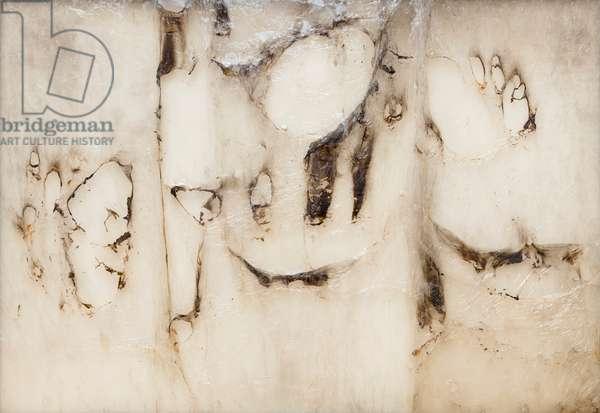 Grande plastica o grande cellophane, 1962, Alberto Burri (mixed media)