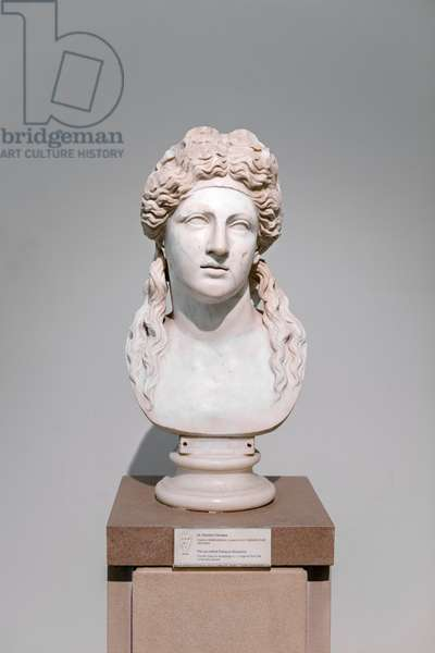 So called Farnese Dionysus, roman copy of an original from the hellenistic period (marble)