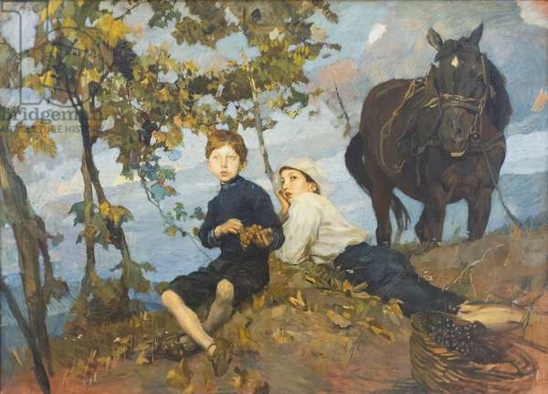 Autumn, 1914, Ettore Tito (painting)