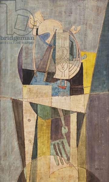 Still Life, c.1948 (tempera on canvas)