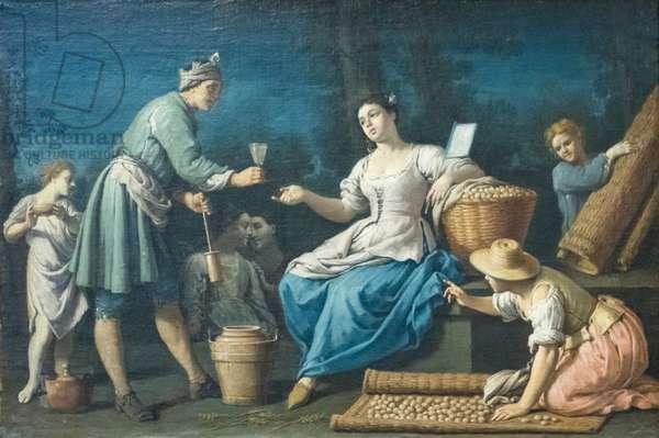 Summer, 1721-1727, (oil on canvas)